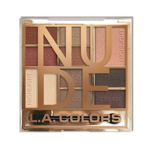L.A. Colors Nude Eye Shadow Palette